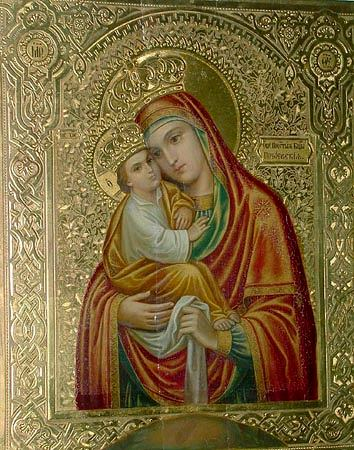 El Santo Icono de Pochaev - Enciclopedia Mariana Lam