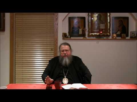 Embedded thumbnail for 2017.01.17. The Gospel of John. Part 23, Talk by Metropolitan Jonah (Paffhausen)