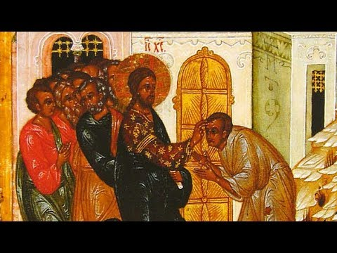 Embedded thumbnail for 2017.05.21. Healing of the Blind. Sermon by Priest Damian Dantinne