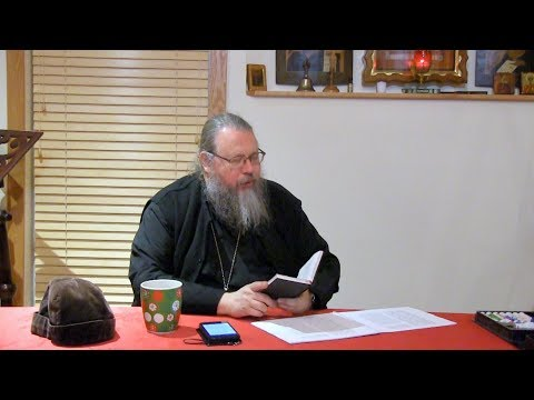 Embedded thumbnail for 2017.12.12. The Divine Liturgy. Part 8. Talk by Metropolitan Jonah (Paffhausen)
