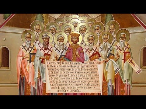Embedded thumbnail for 2019.06.09. Holy Fathers of the 1st Ecumenical Council. Sermon by Archpriest Victor Potapov