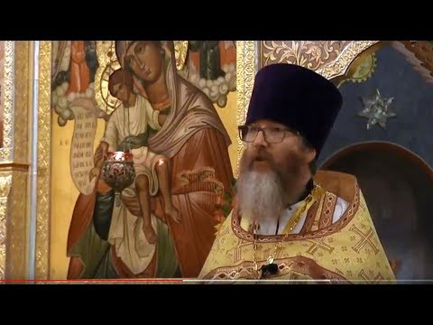 Embedded thumbnail for 2017.10.08. The Miraculous Catch of Fish. Sermon by Archpriest Martin Person