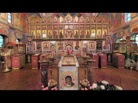 "Embedded thumbnail for 2017.12.10. The ""Sign"" Kursk Icon of the Mother of God. Divine Liturgy"