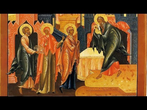 Embedded thumbnail for 2018.02.15. Meeting of the Lord. Sermon by Archpriest Victor Potapov