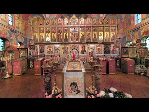 Embedded thumbnail for 2016.10.13. Vigil. Protection of the Theotokos. Покров Богородицы. Всенощная (англ/слав)
