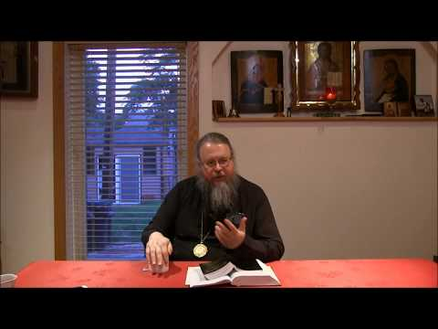 Embedded thumbnail for 2017.08.15. Book of Hebrews. Part 11 Talk by Metropolitan Jonah (Paffhausen)