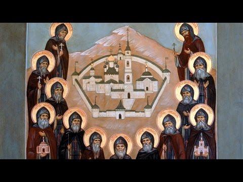 Embedded thumbnail for 2016.10.23. Venerable Elders of Optina. Sermon by Priest Damian Dantinne