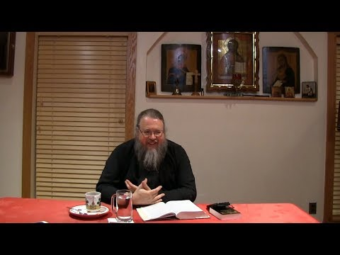 Embedded thumbnail for 2017.09.12. Book of Hebrews. Part 14. Talk by Metropolitan Jonah (Paffhausen)