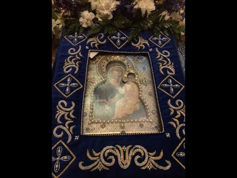 Embedded thumbnail for 2018.11.02. Moleben and Meeting of the Myrrh-Streaming Hawaiian Icon of the Mother of God