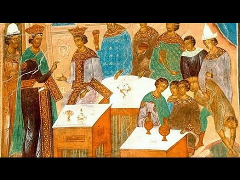 Embedded thumbnail for 2016.09.25. Parable of the Wedding Feast. Sermon by Priest Damian Dantinne